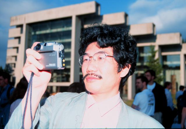 1998年6月バンクーバーのSMBE会場にて
